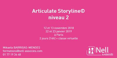 Formation - Articulate Storyline - Niveau 2