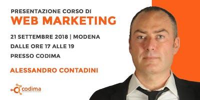 Workshop Gratuito di Web Marketing - Vuoi avere un piano di web marketing definito e far diventare i tuoi visitatori clienti?