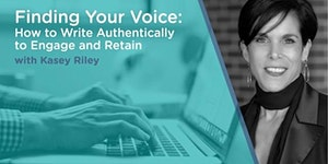 Finding Your Voice: How to Write Authentically to...