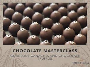 Gorgeous Ganaches & Chocolate Truffles - Masterclass tickets