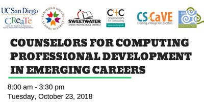 COUNSELORS FOR COMPUTING Professional Development in Emerging Careers