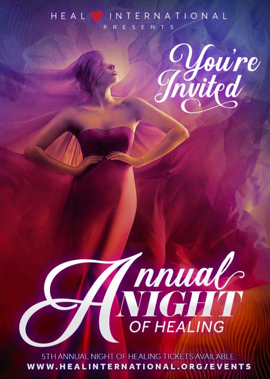 HEAL International Presents: 5th Annual Night of HEALing