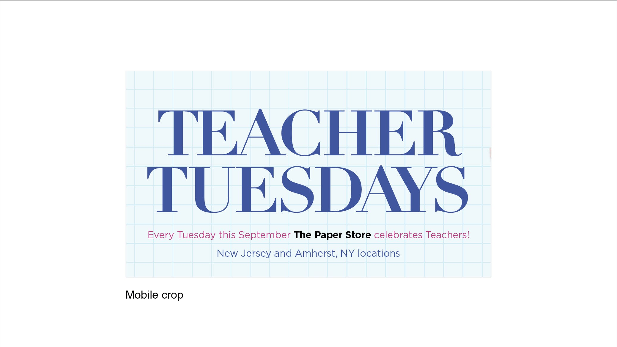 Teacher Tuesday @ The Paper Store Succasunna