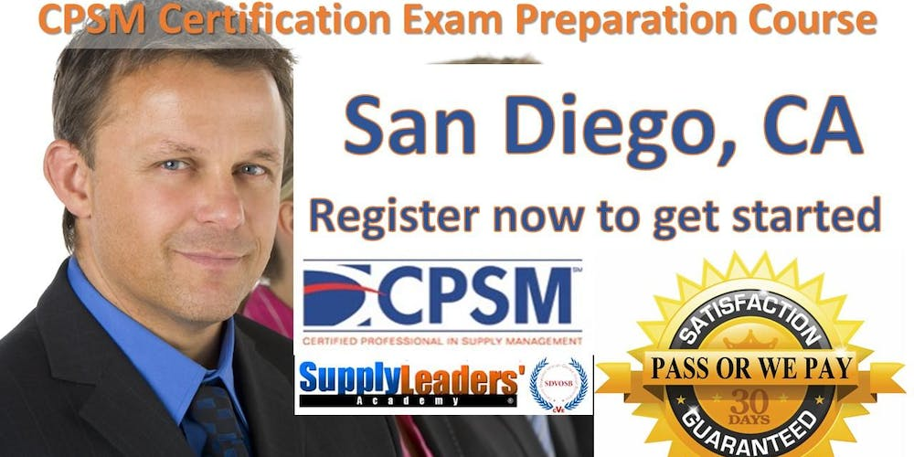 Procurement Certification Training Cpsm Boot Camp San Diego