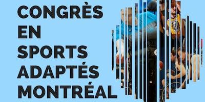 Congrès en sports adaptés de Montréal - CESAM 2018