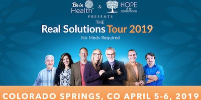 Real Solutions Tour - April 2019- Colorado Springs, CO