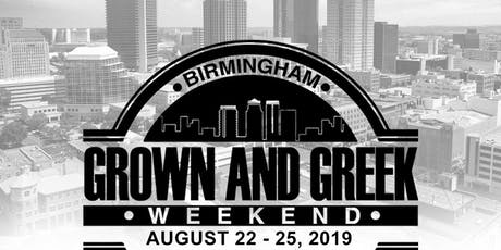 Grown and Greek Weekend (Birmingham, AL) tickets