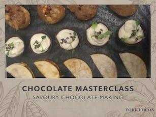 Savoury Chocolate Making - Masterclass tickets