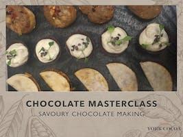 Savoury Chocolate Making - Masterclass