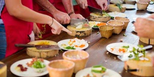 Vegetarian Cooking Classes Series by Chef Veena