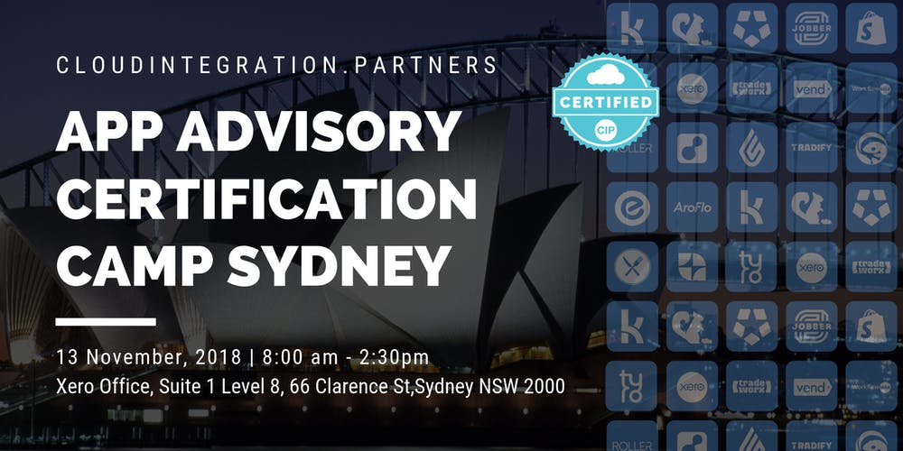Ci Partners Sydney 2018 App Advisory Certification Camp Tickets Tue