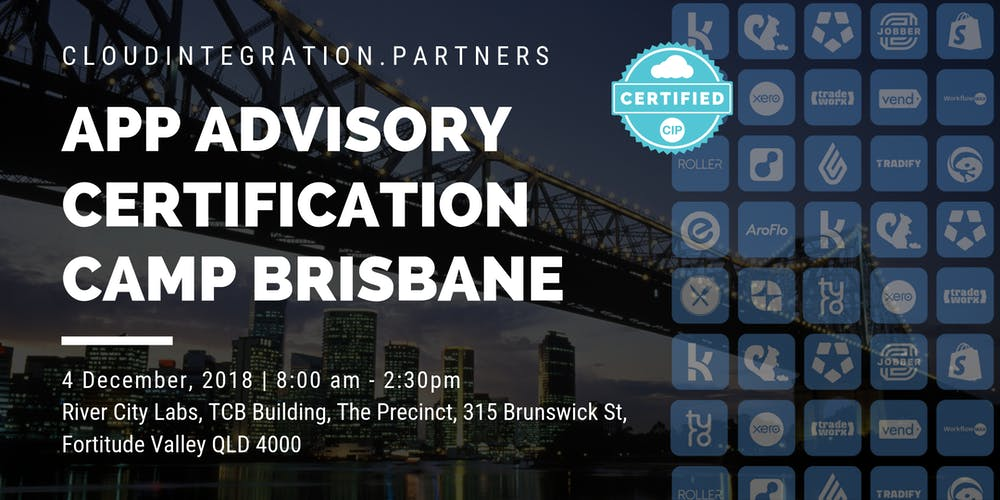 Ci Partners Brisbane 2018 App Advisory Certification Camp Tickets