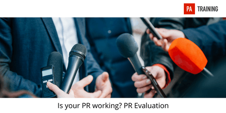PR Evaluation - Is Your Public Relations Working tickets