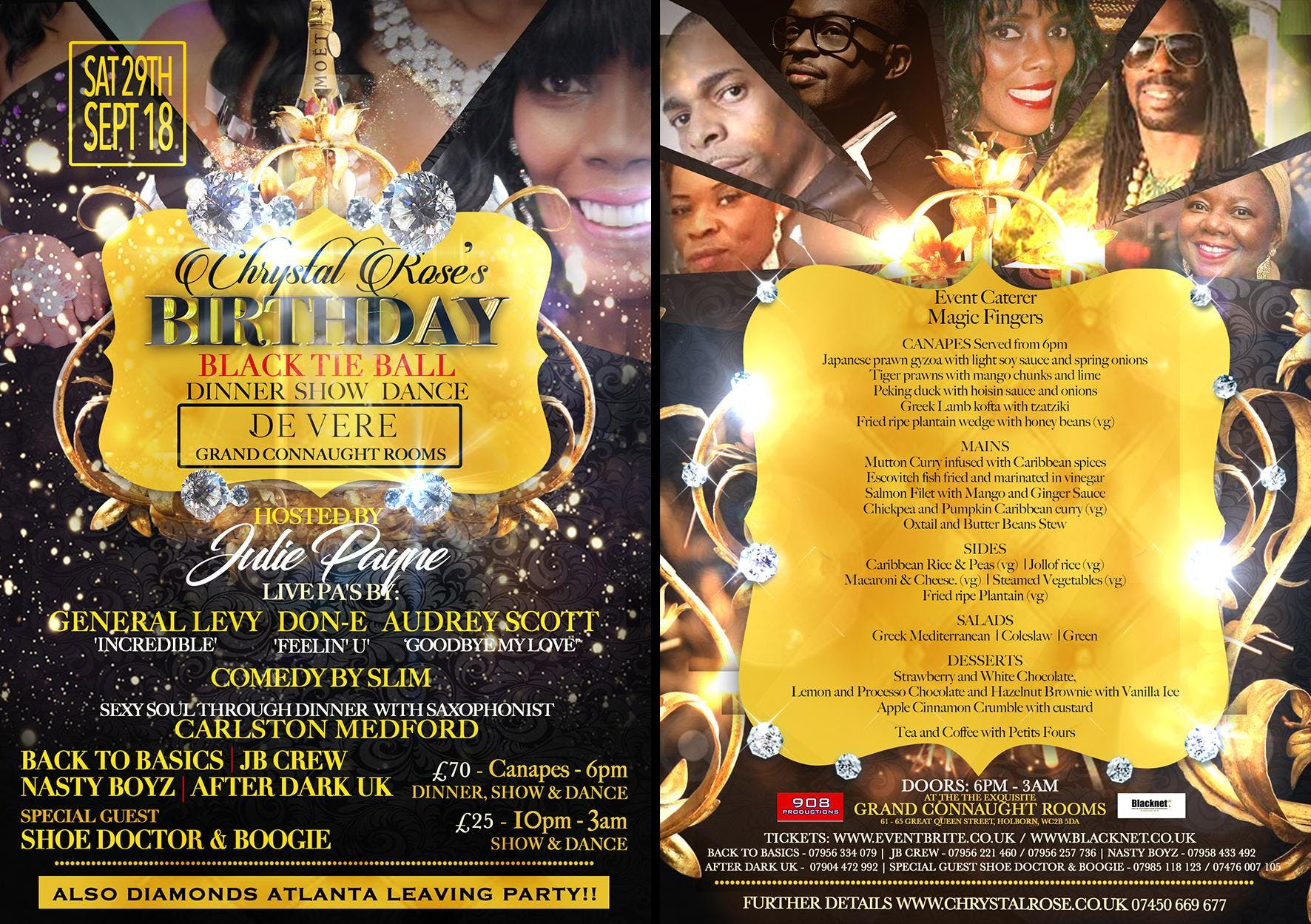 Chrystal Rose's Black Tie Birthday & Atlanta