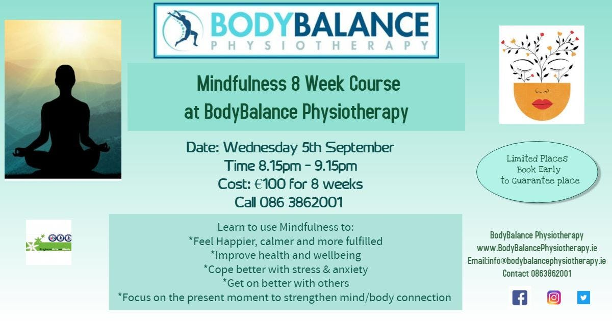 Mindfulness 8 Week Course Navan
