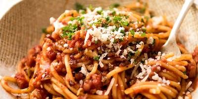 Italian Pasta Lunch Buffet