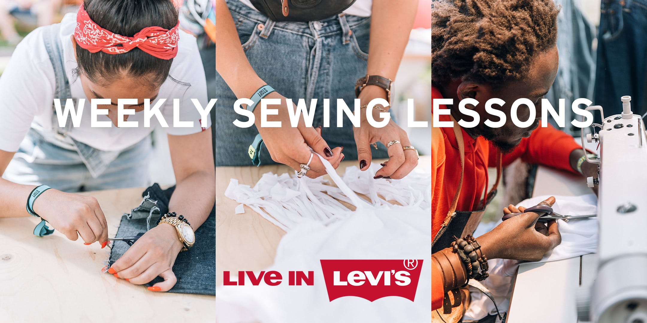 Levi's Weekly's Sewing Lesson / Become a Tail