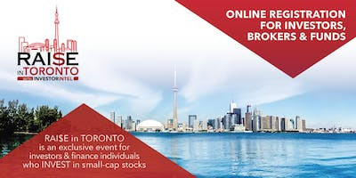 RAI$E in TORONTO: One-to-One Small-Cap Investing Conference