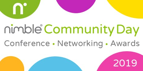 Nimble Community Day 2019 – Conference, Networking and Awards tickets