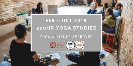 Yoga Alliance 200HR Approved In Depth Yoga Studies & Teacher's Program tickets