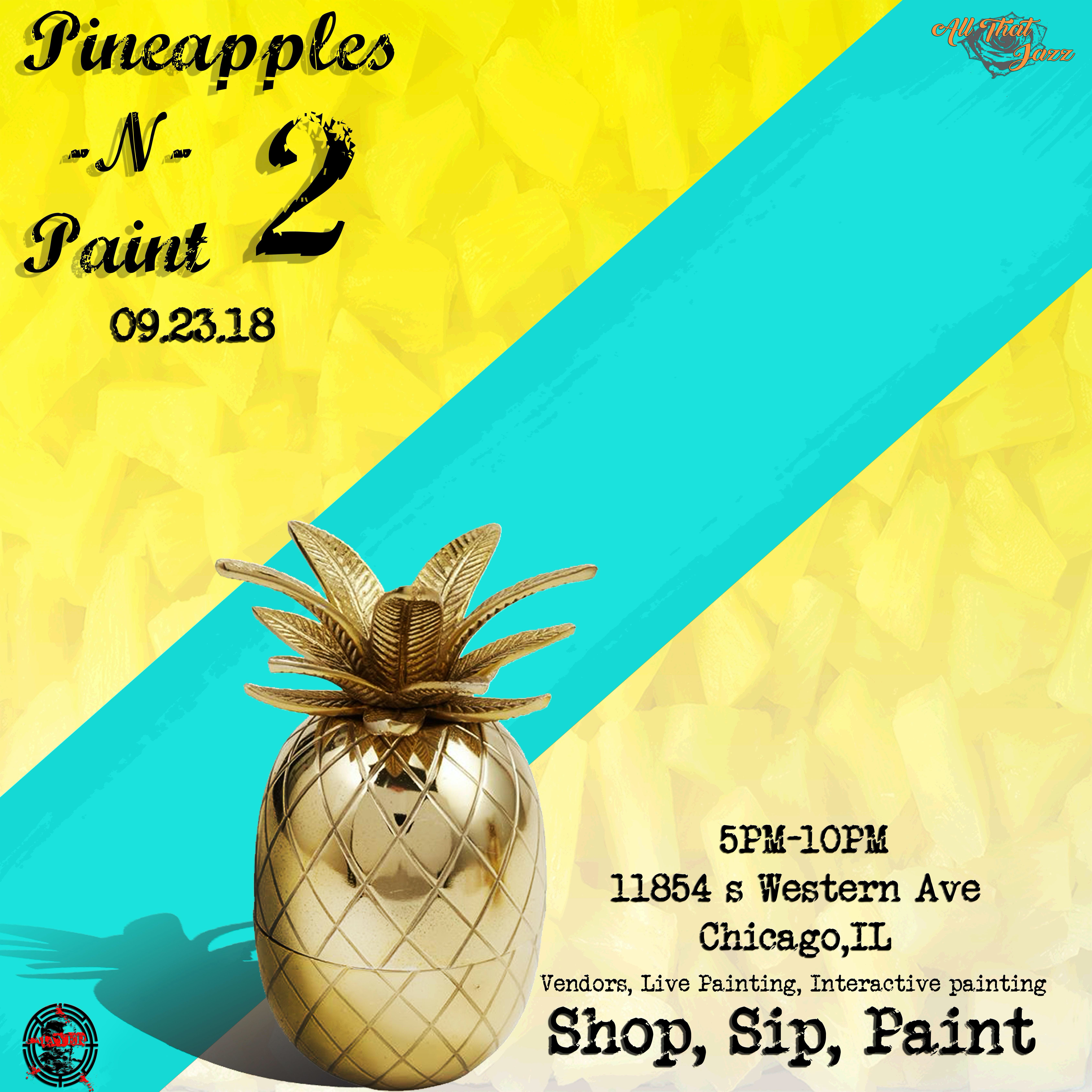 Pineapples and Paint 2