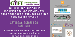 Grassroots Institute for Fundraising Training in New...