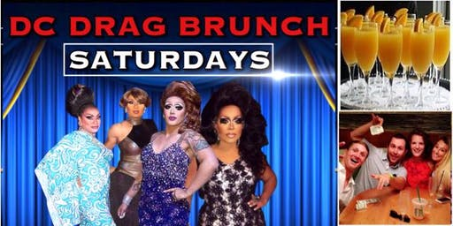 DC Drag Brunch At Dirty Martini