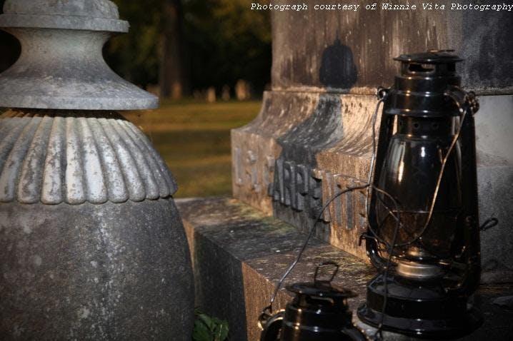 Evergreen Cemetery Lantern Tours