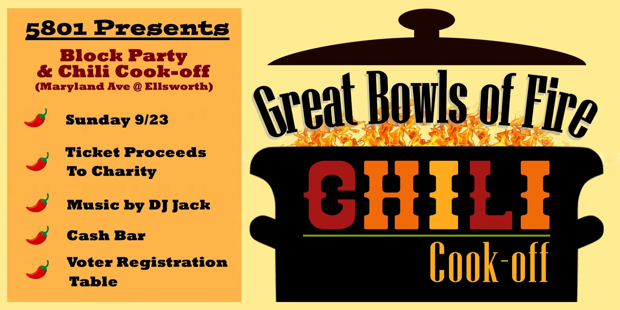 5801 Block Party & Chili Cook-Off