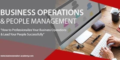 BUSINESS OPERATIONS & PEOPLE MANAGEMENT