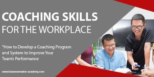 COACHING SKILLS FOR THE WORKPLACE