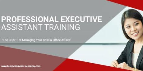 PROFESSIONAL EXECUTIVE  ASSISTANT TRAINING tickets