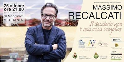 """Incontro con Massimo Recalcati - """"Il desiderio non è una cosa semplice"""""""