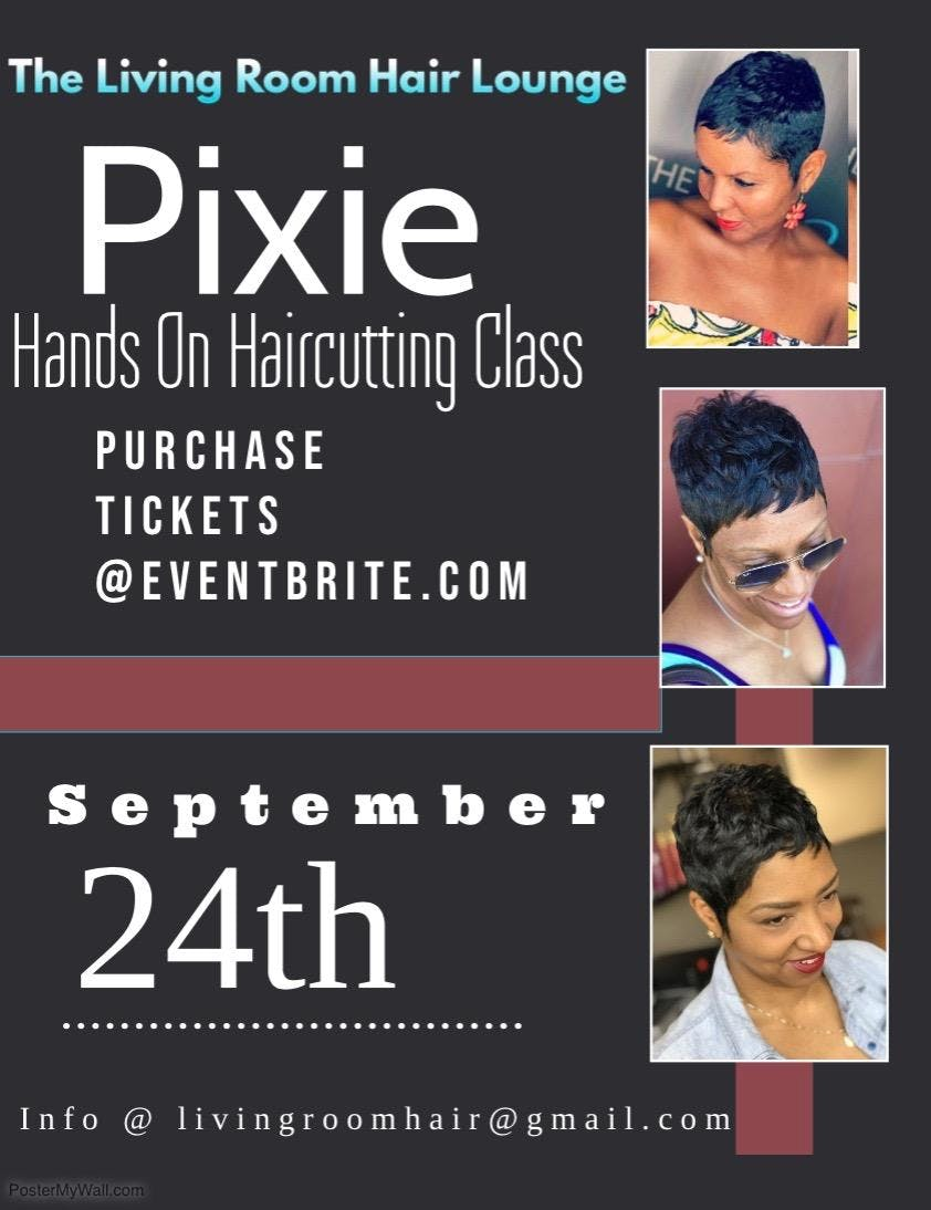 Pixie Hands on Haircutting/Styling Class