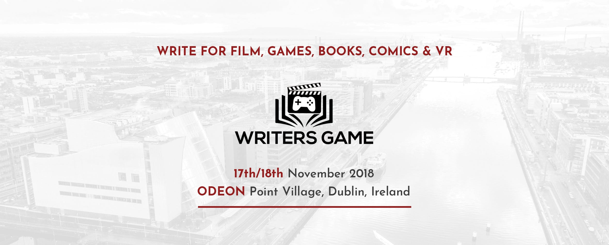 WRITERS GAME Empowers Writers of Film, Games, Books and VR/AR