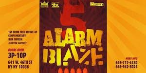 5 Alarm Blaze 2018 Pre Labor Day Extravaganza #openbar