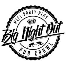 Big Night Out Pub Crawl logo