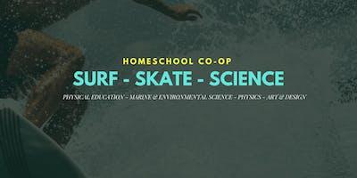 Surf-Skate-Science Homeschool Classes / Grade 4th-9th / Spring Semester 2019