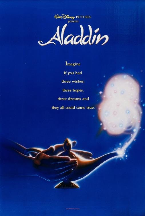 Free Movies on the Lawn - Aladdin