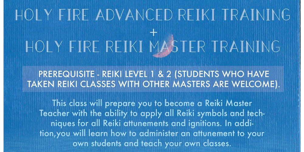 Holy Fire Reiki Master Training Tickets Fri Sep 21 2018 At 700