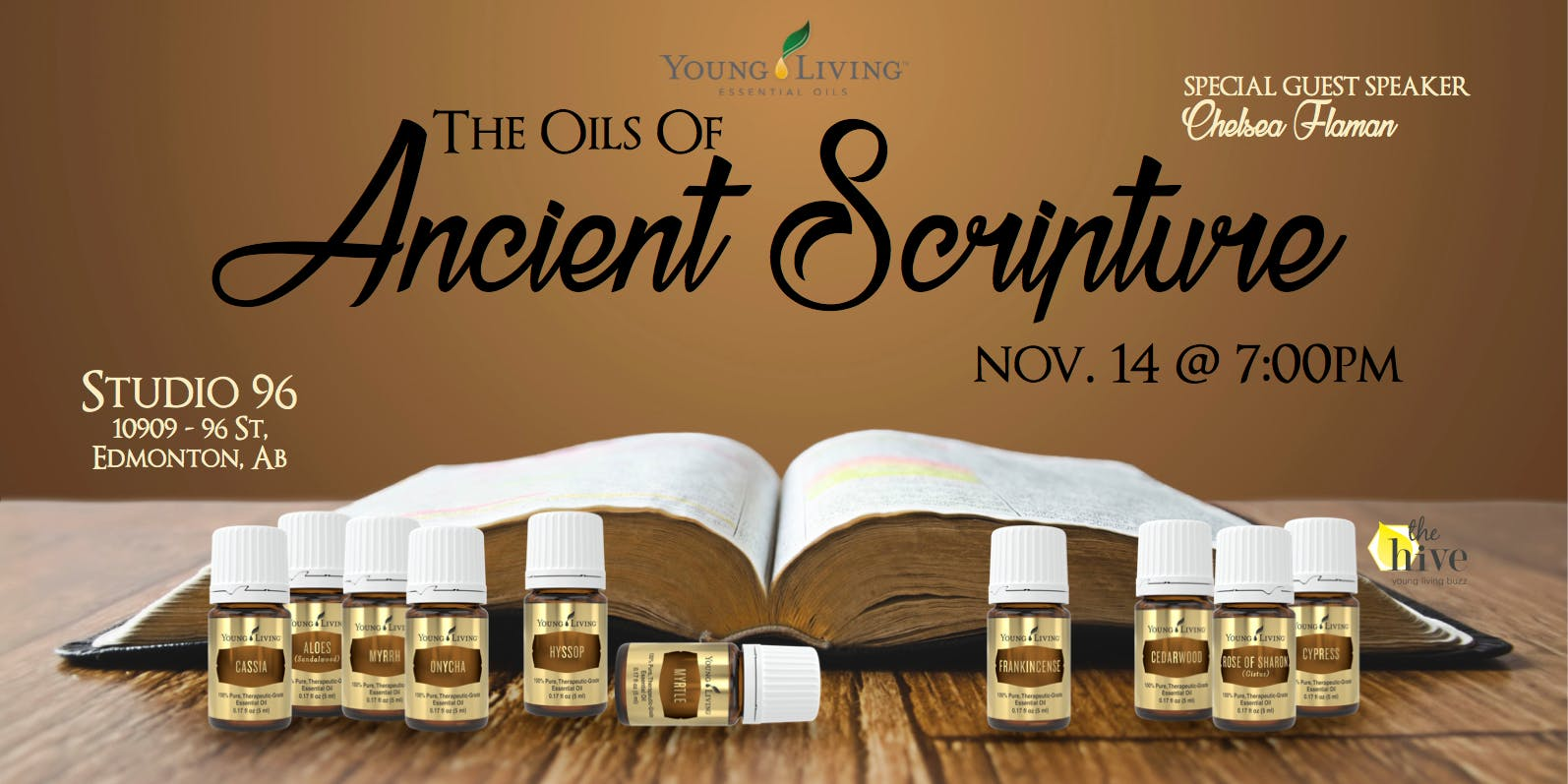 Oils of the Bible: Exploring Ancient Scriptur