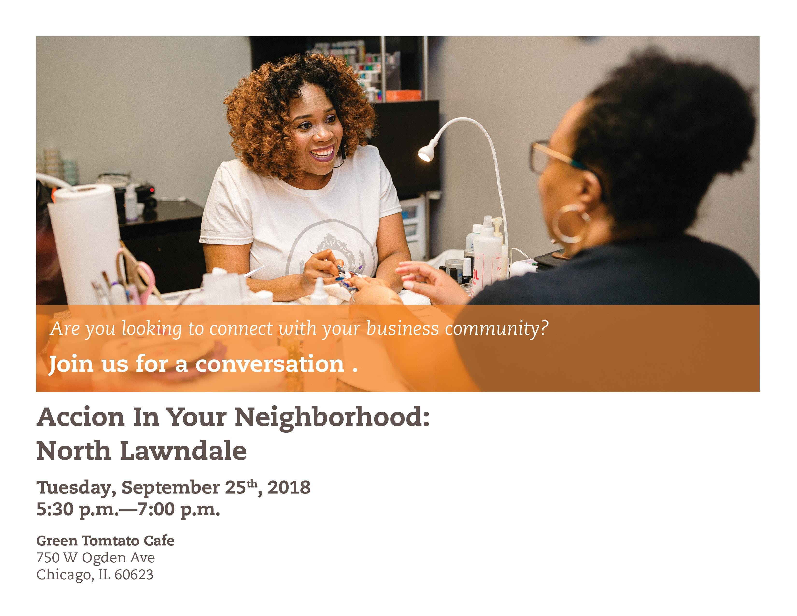 Accion In Your Neighborhood: North Lawndale