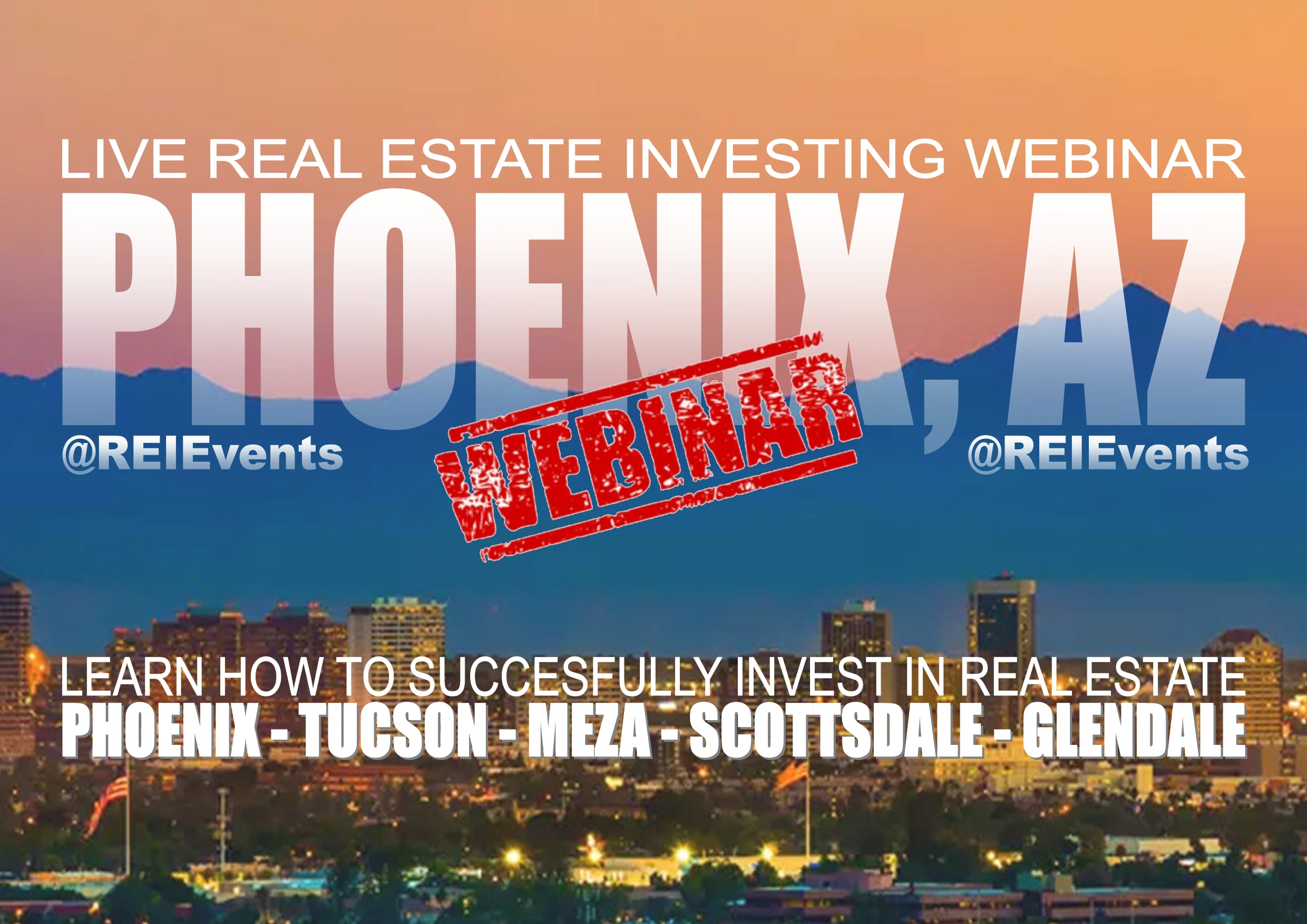 How to Start in Real Estate Webinar - Phoenix