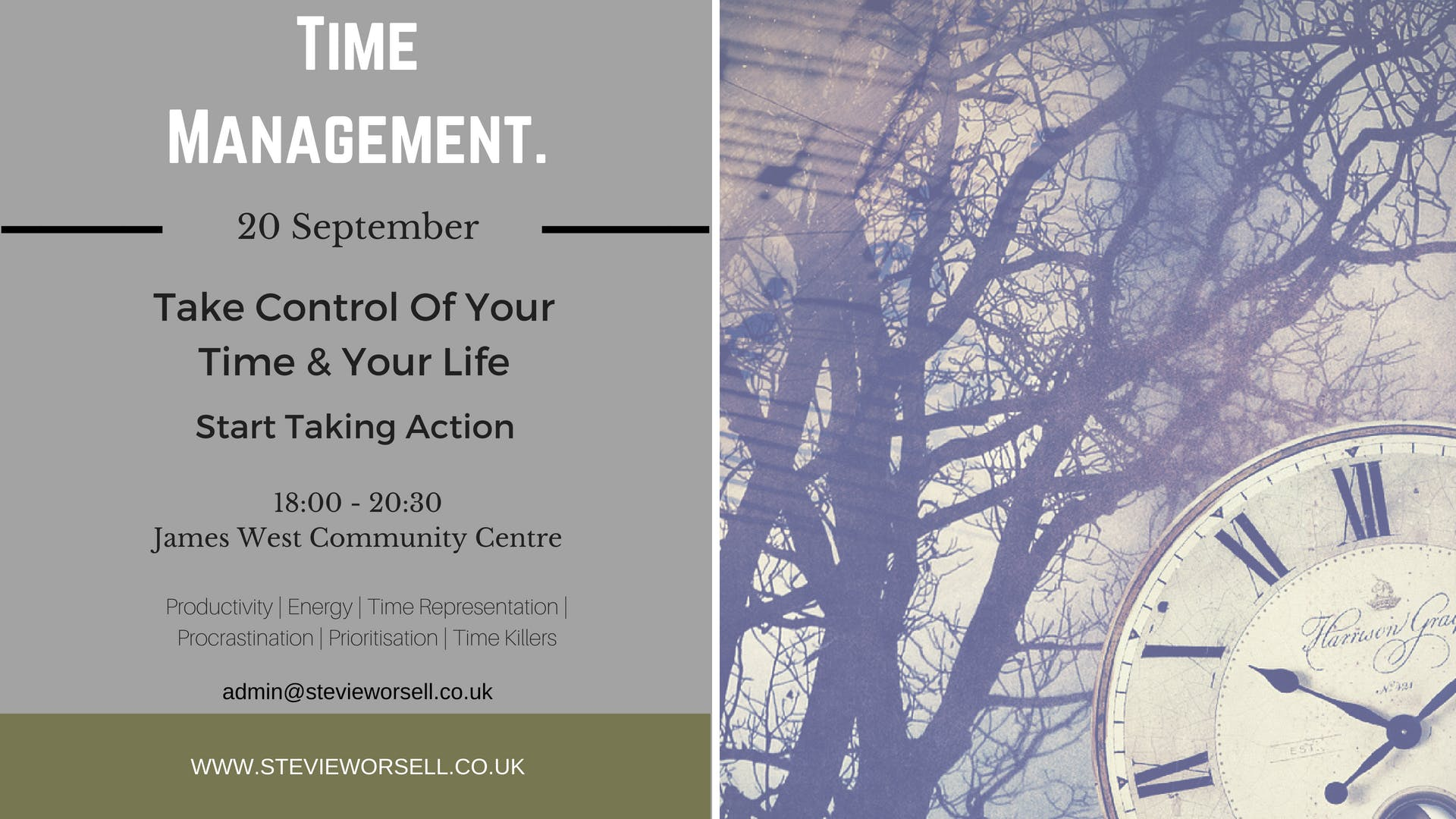Time Management - Master Time & Your Life