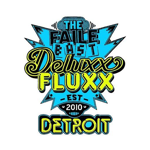 Deluxx Fluxx logo