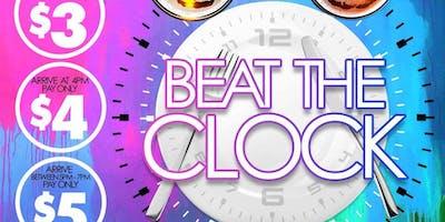 Beat The Clock Happy Hour
