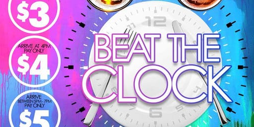 Beat The Clock Happy Hour