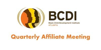 BCDI-Atlanta Quarterly Affiliate Meeting: Atlanta, GA - January 14, 2020