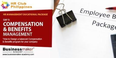 COMPENSATION & BENEFITS  MANAGEMENT tickets
