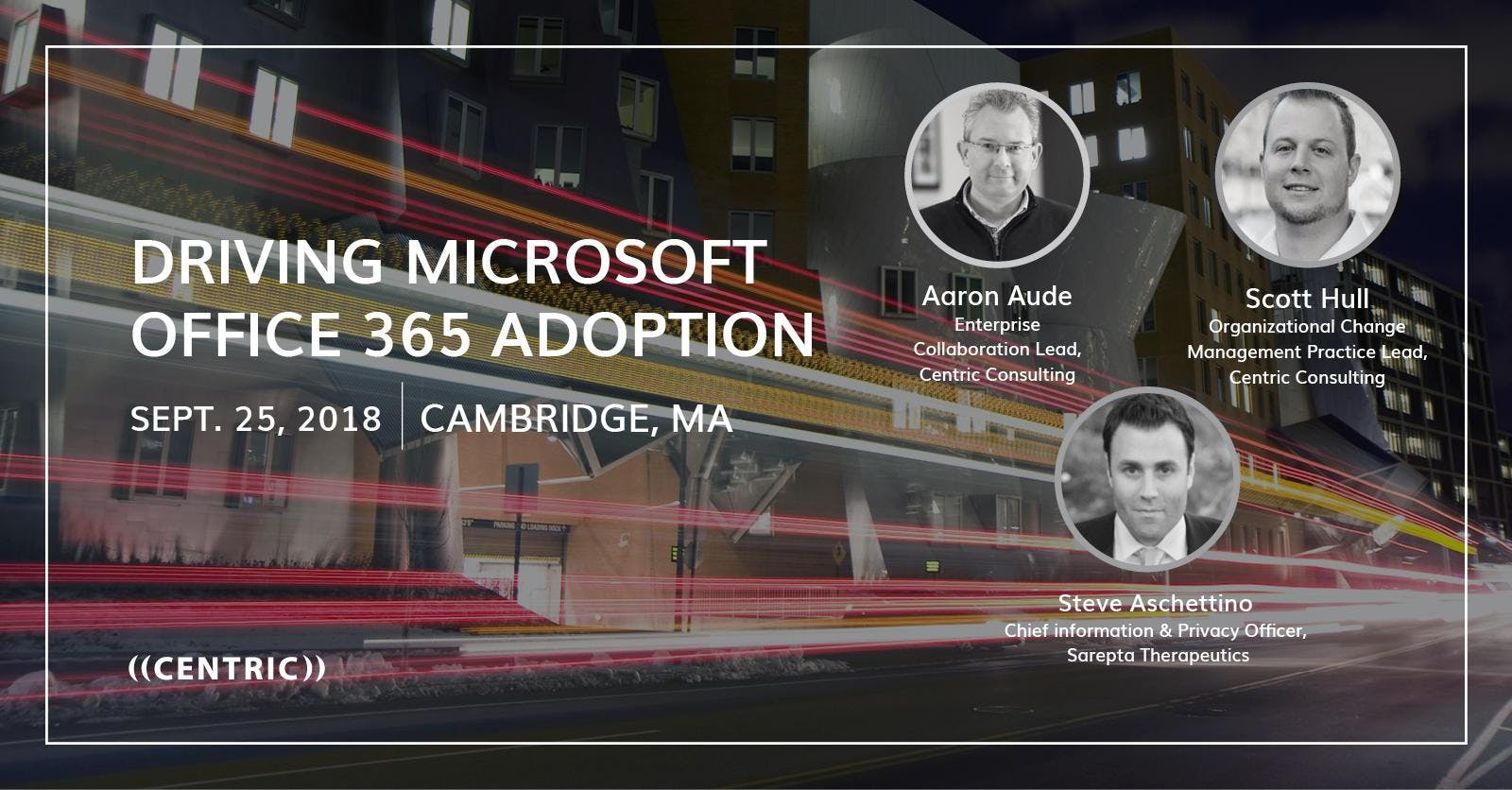 [Boston] Driving Office 365 Adoption
